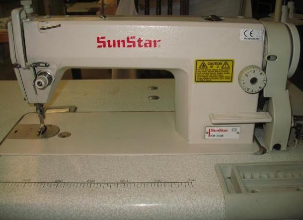 SUNSTAR - Pespuntes Sunstar KM-250 (con motor) - Maquinas